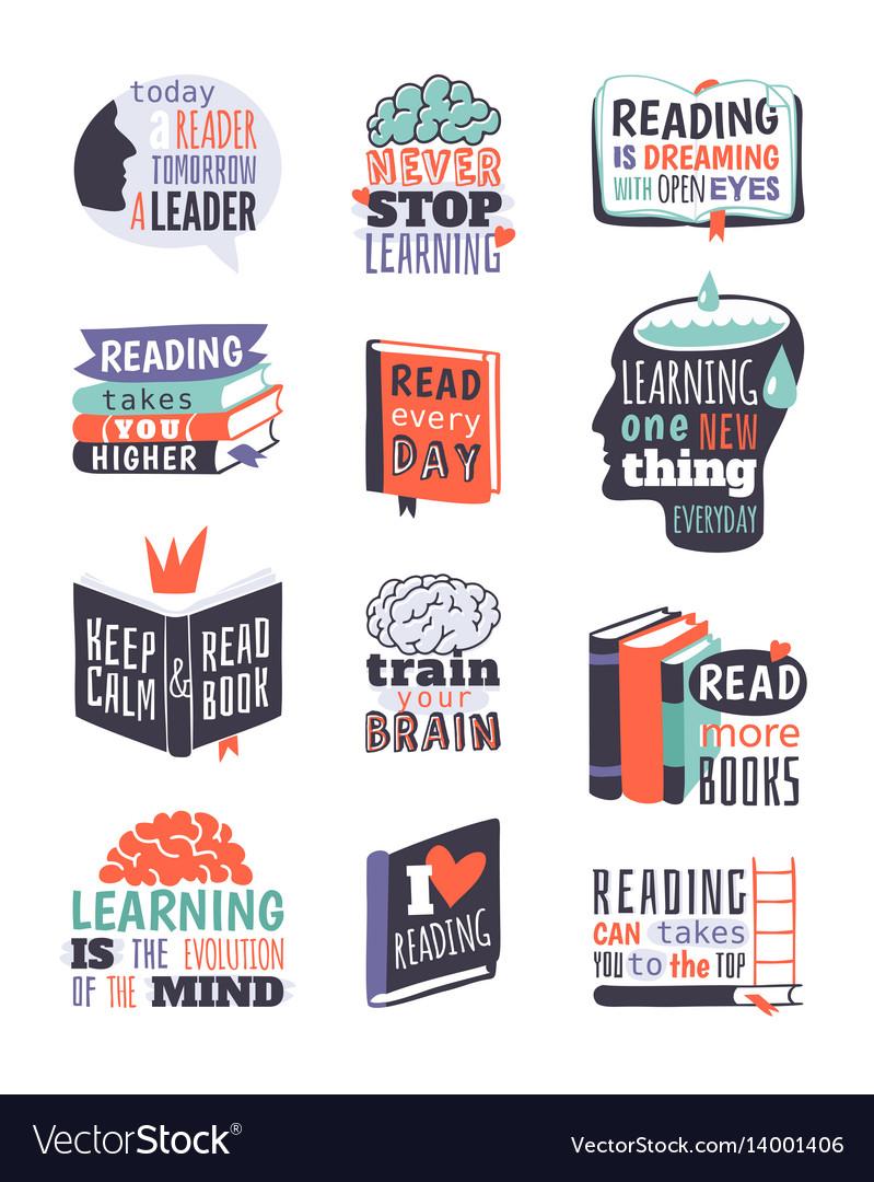 Reading motivation badge