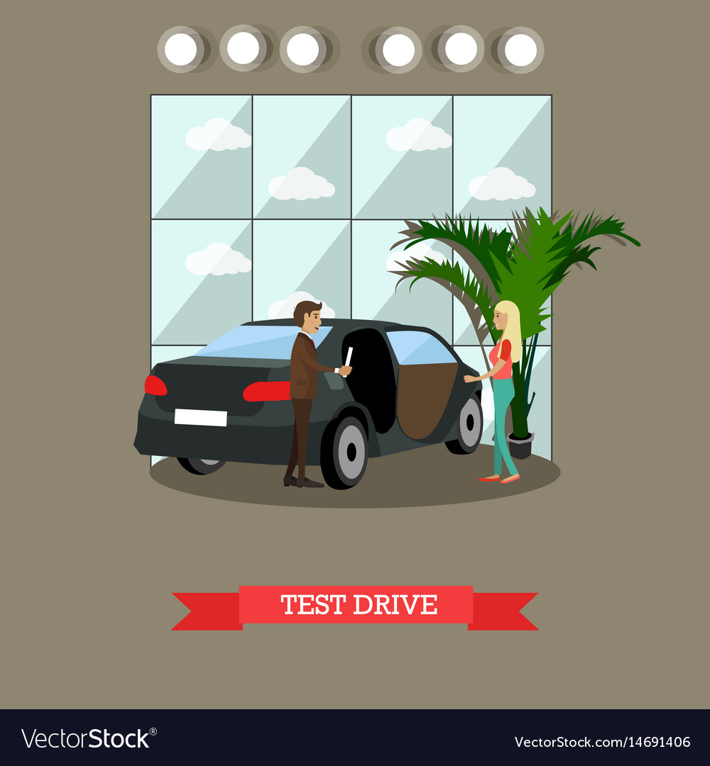 Test drive concept in flat