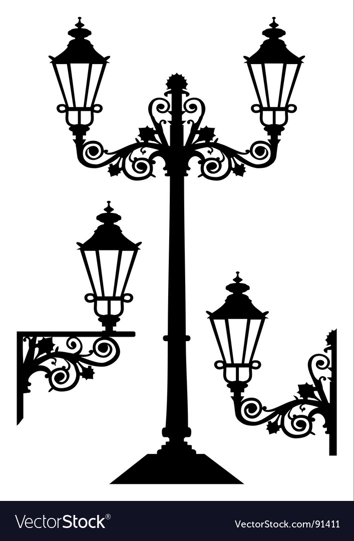 Antique street lights