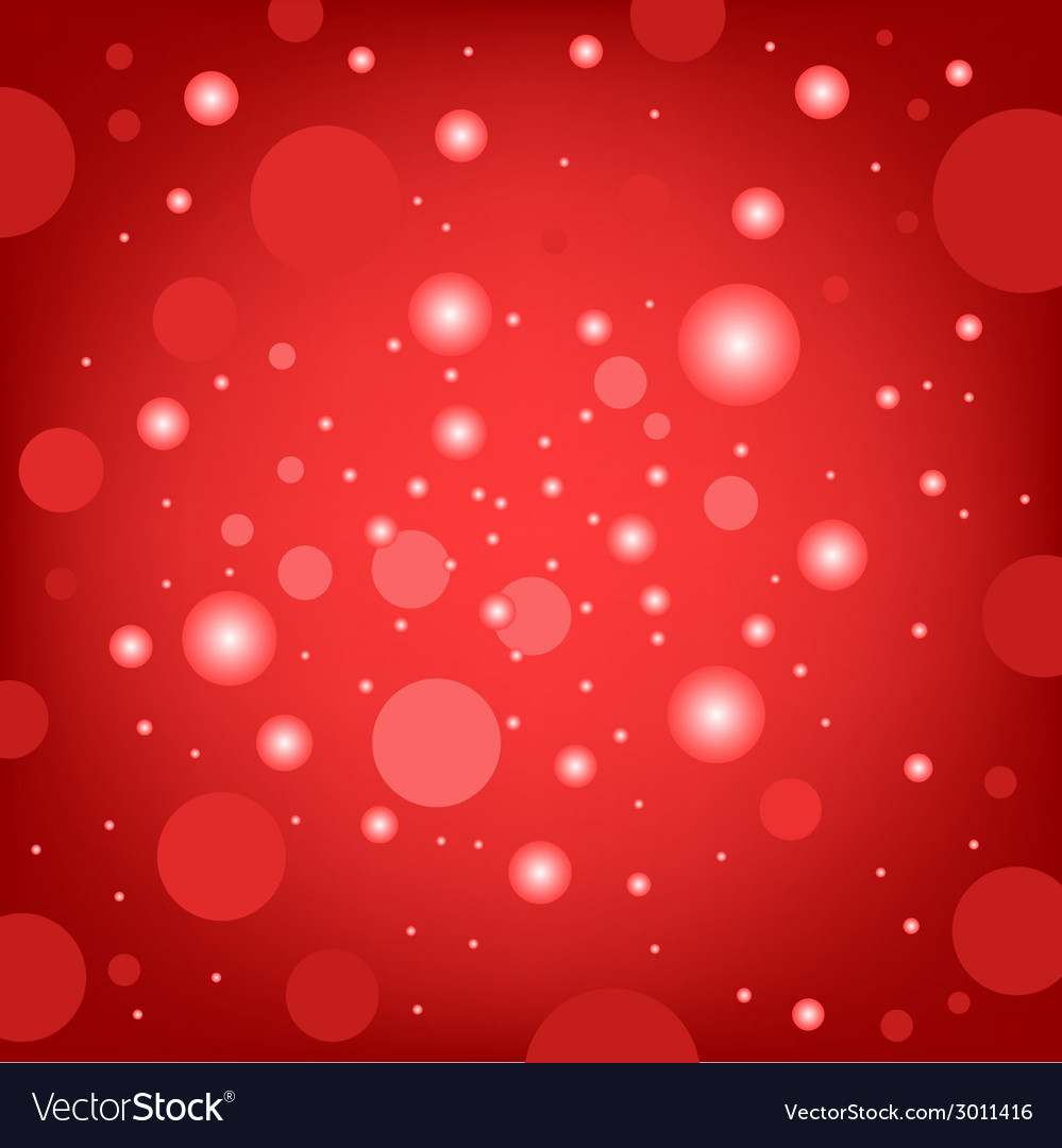 Circular effects red background