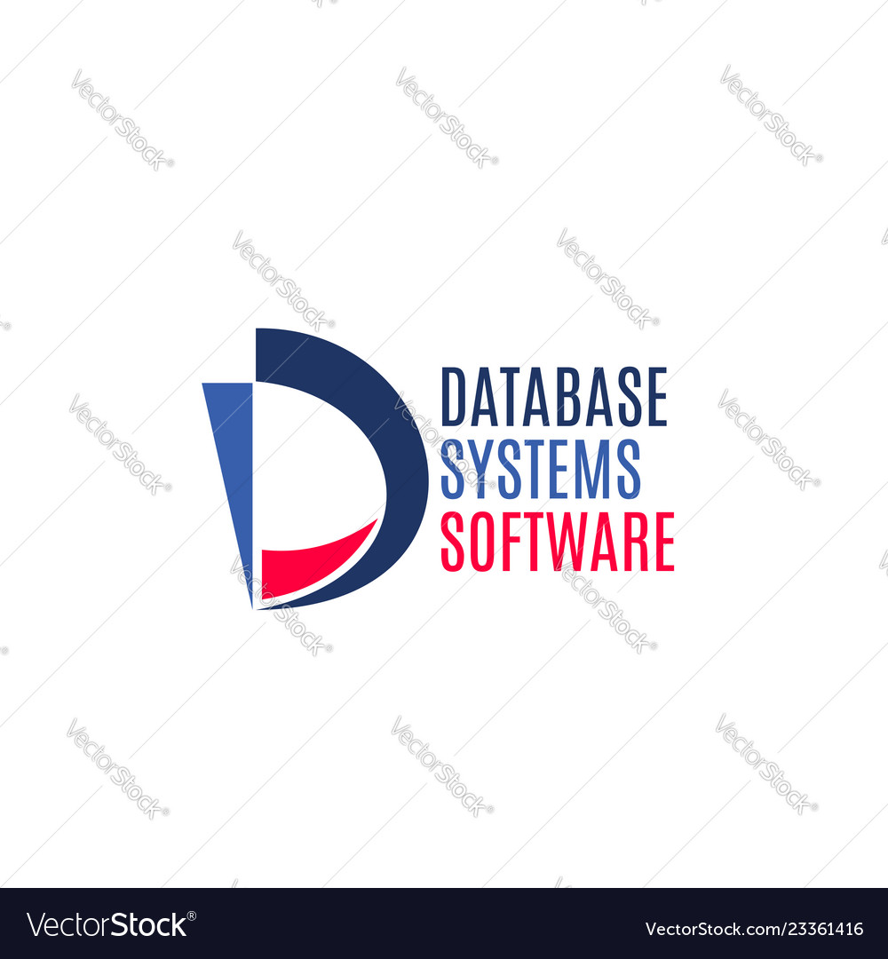 Database systems software sign