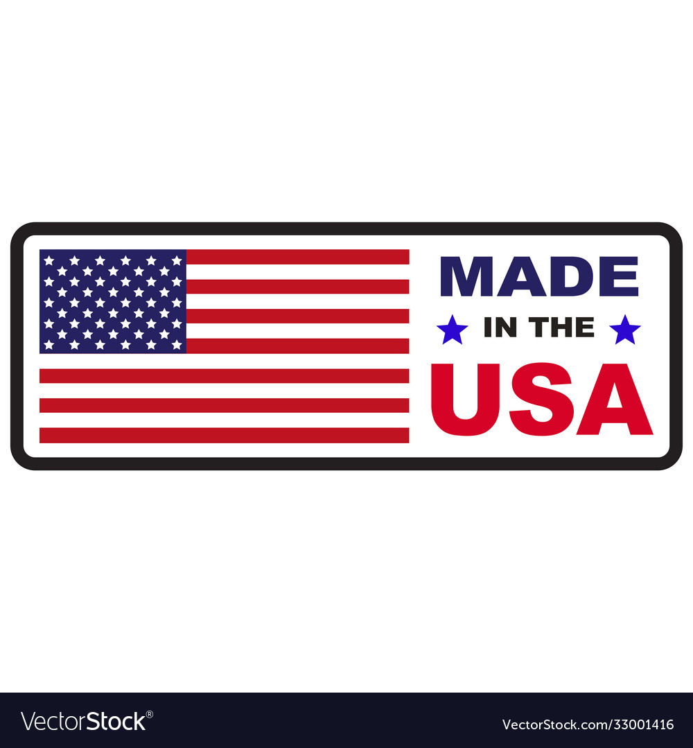 Made in usa flag icon