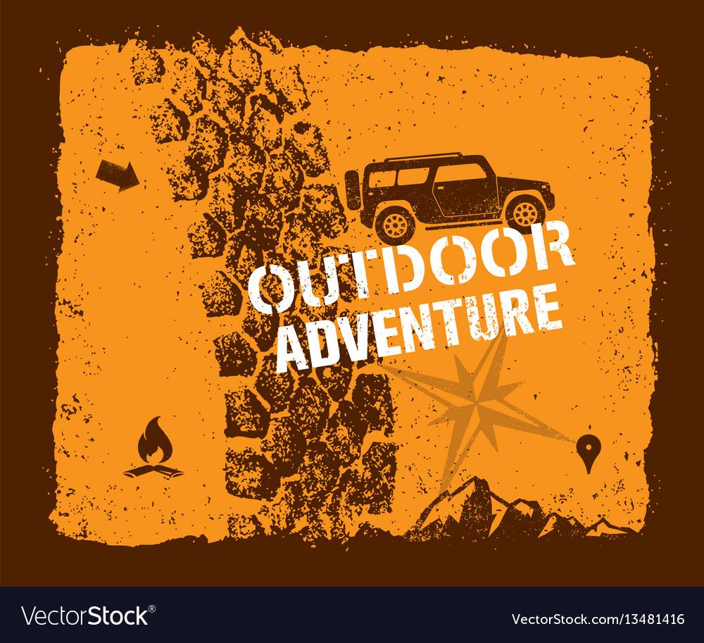 Off road outdoor adventure