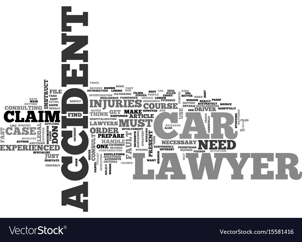 When should you instruct a car accident lawyer