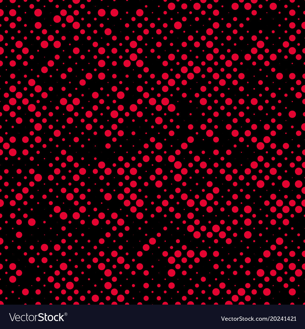 Abstract random halftone dot pattern background