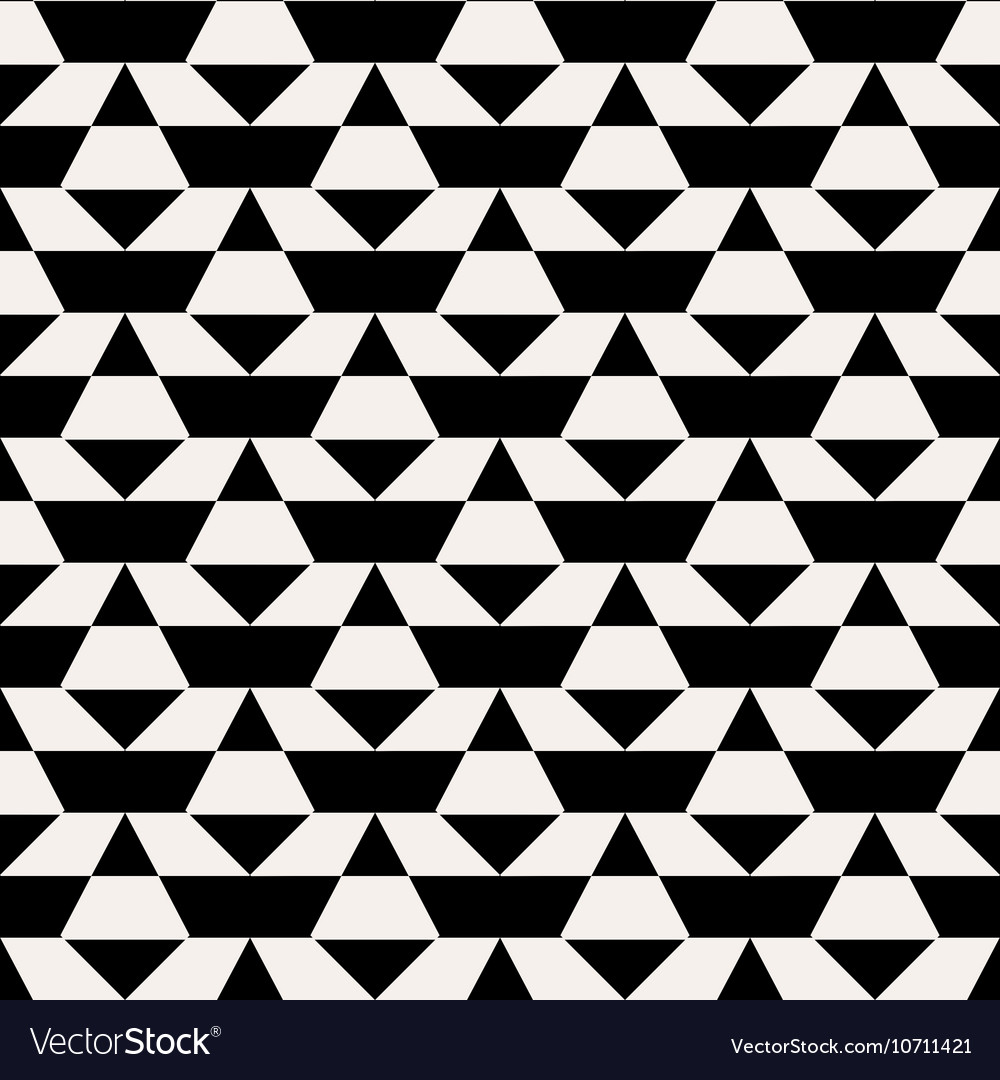 Black and white op art pattern