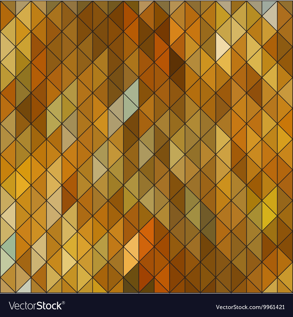 Geometric elegant gold yellow triangle sapphire