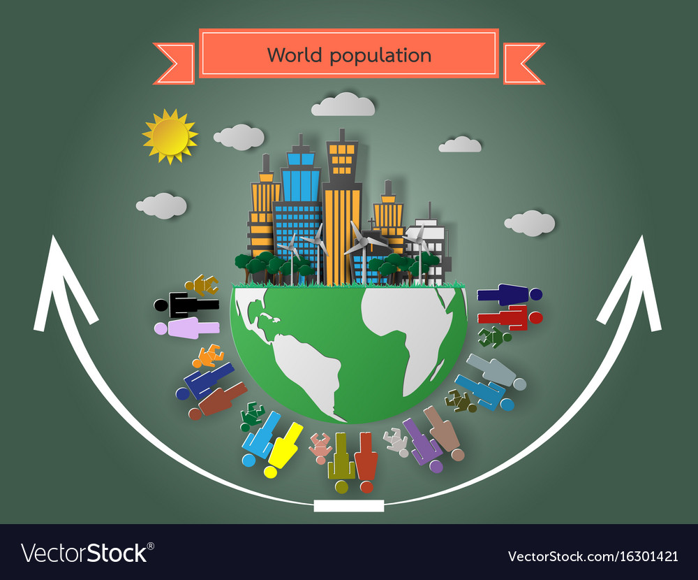Rise of the world population