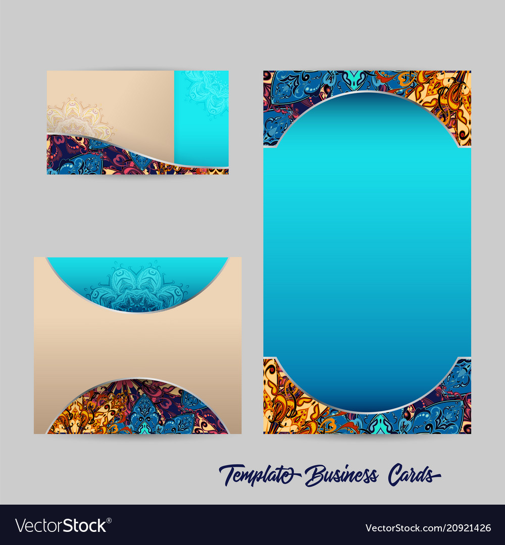 Template business cards 1