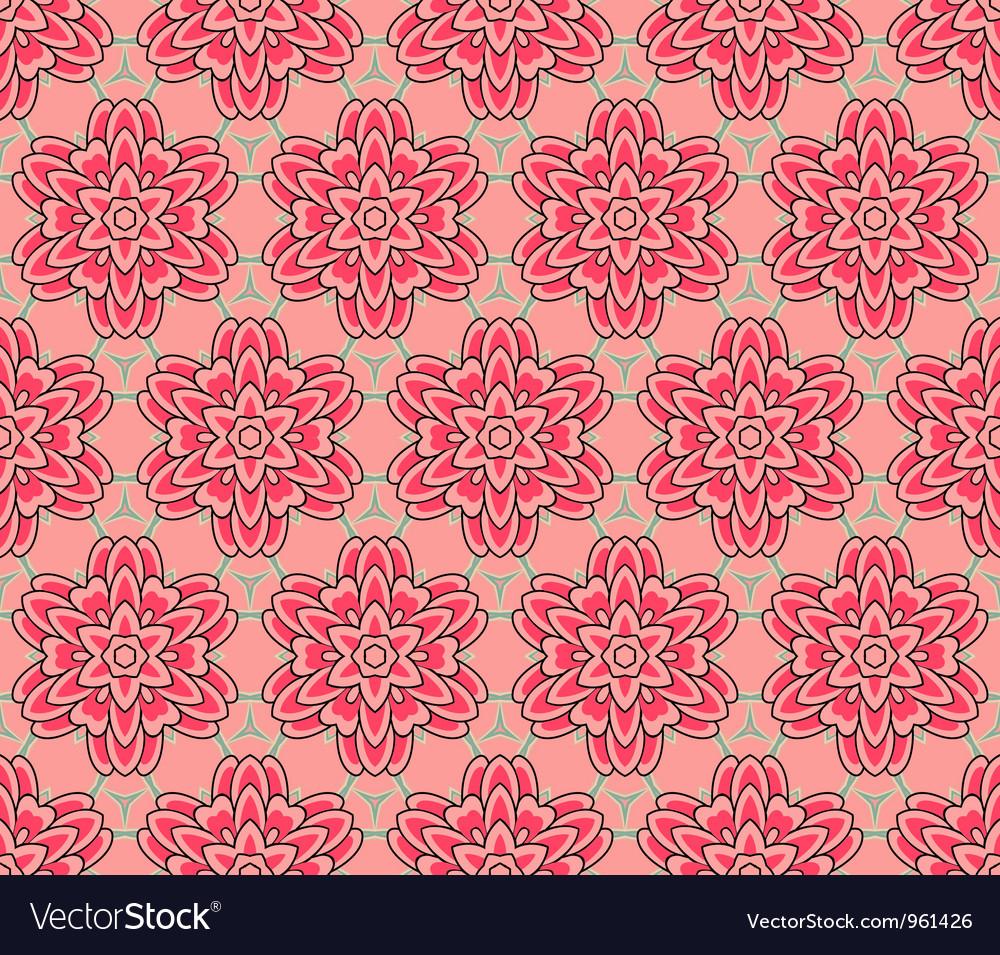 Vintage pattern wallpaper seamless background