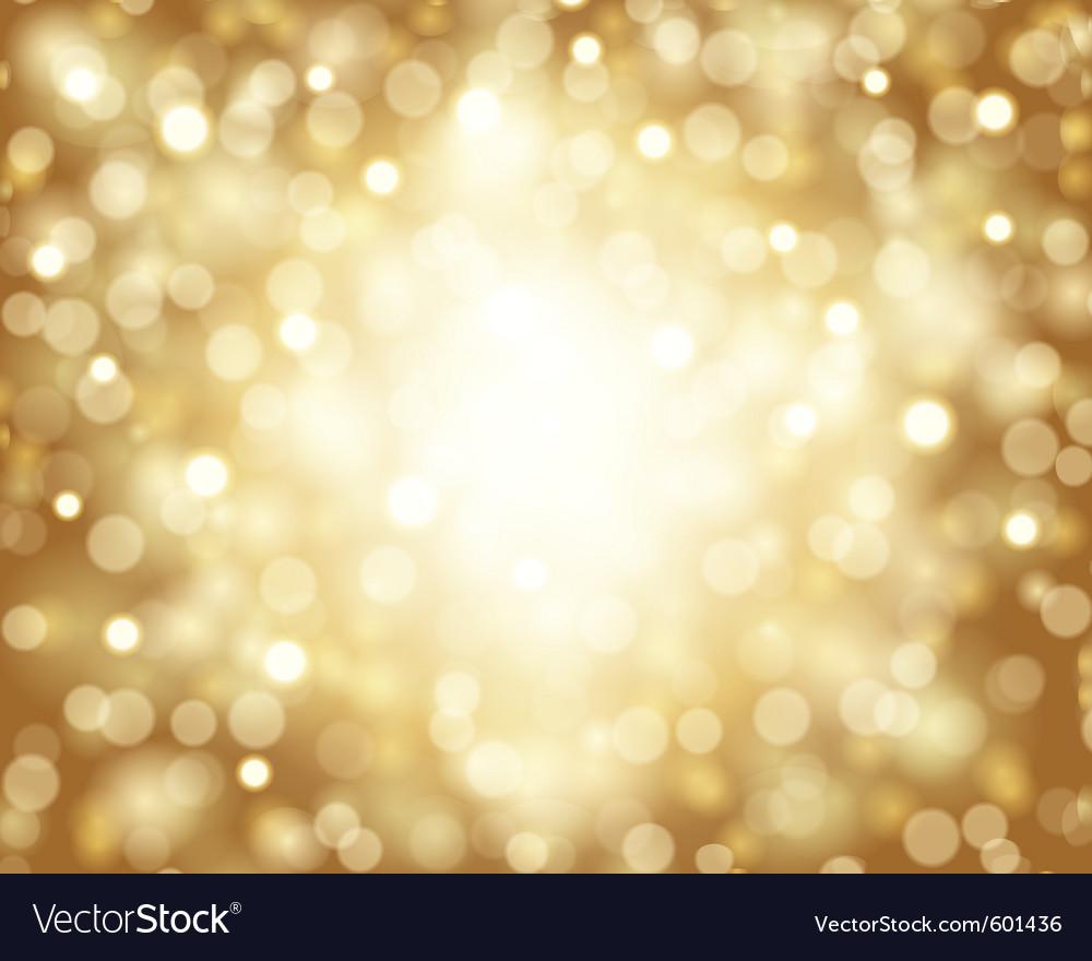 Bokeh card background vector image