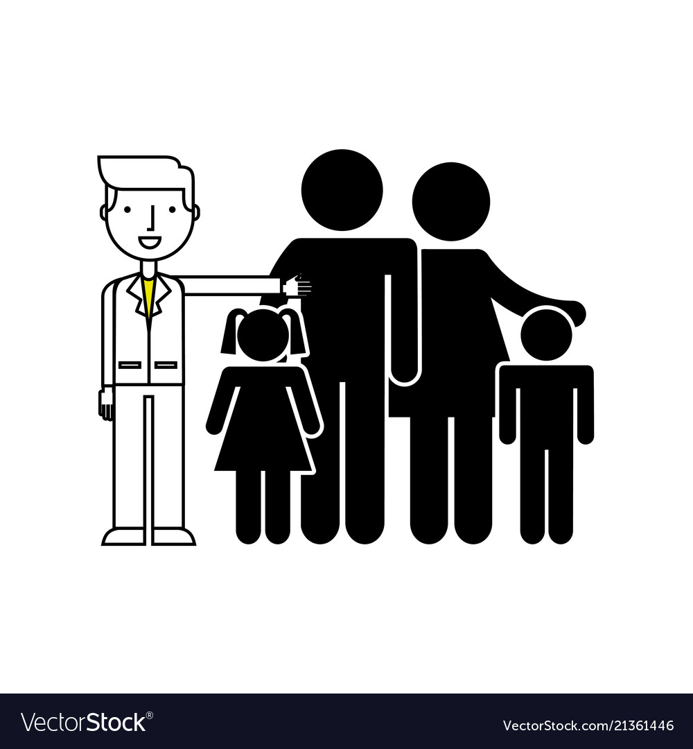 Parents with kids