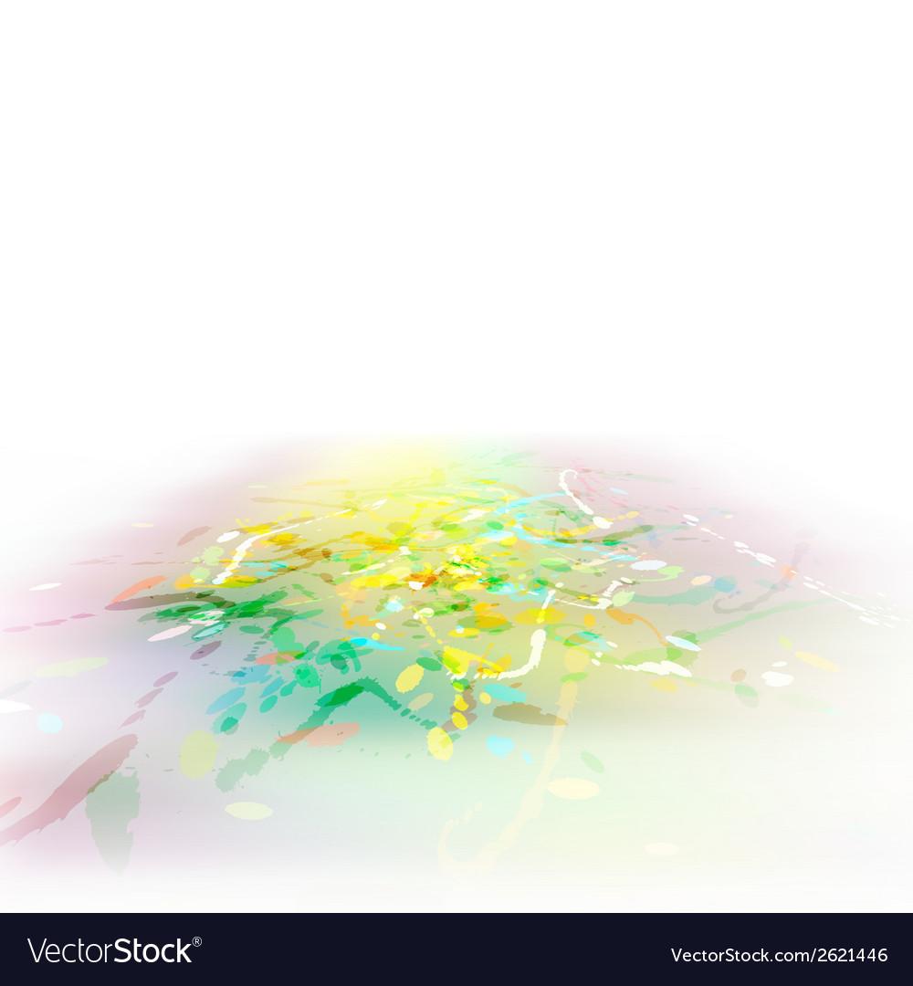 Splash watercolor background plus EPS10 vector image