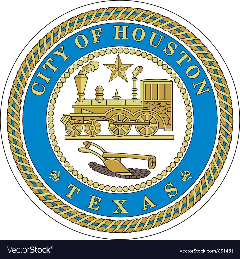 Houston city seal