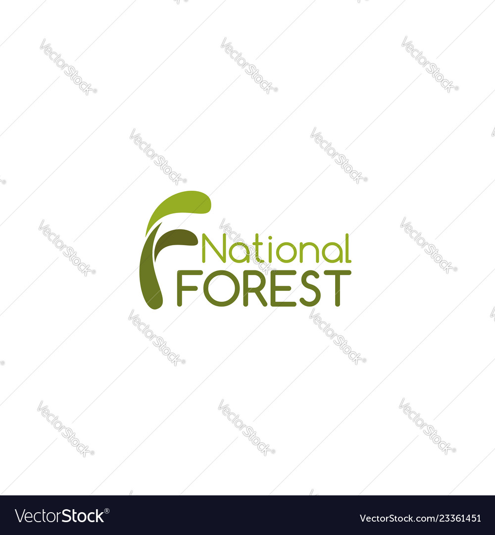 Sign national forest