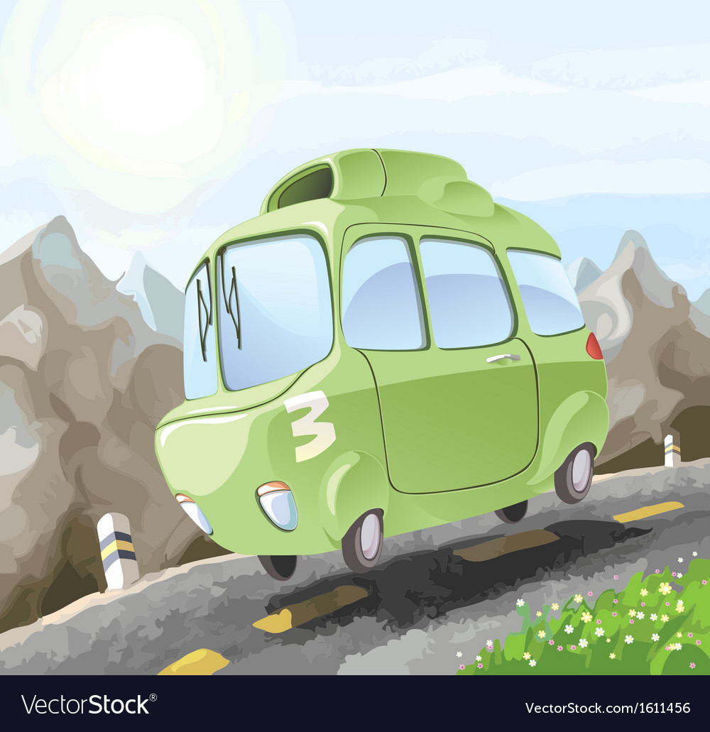 Dangerous Driving vector image