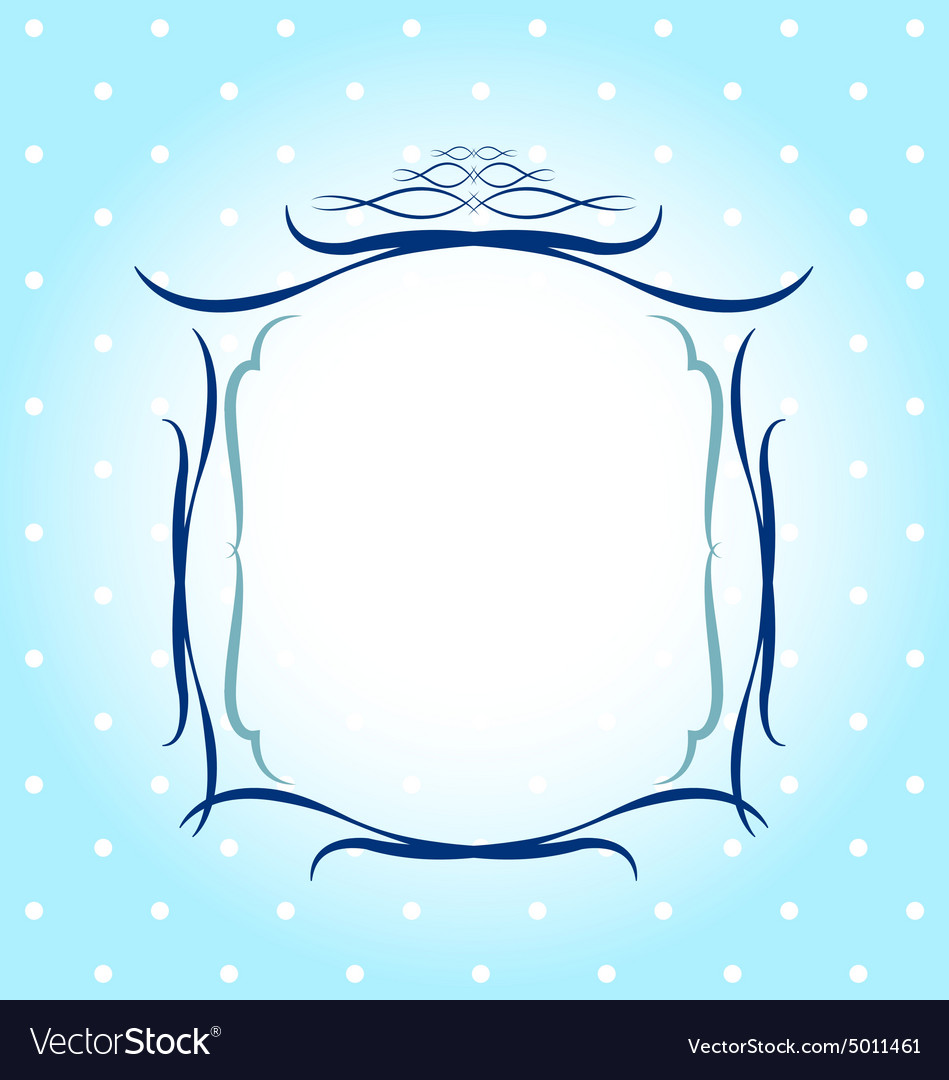Frames Borders Greeting Card Design Royalty Free Vector
