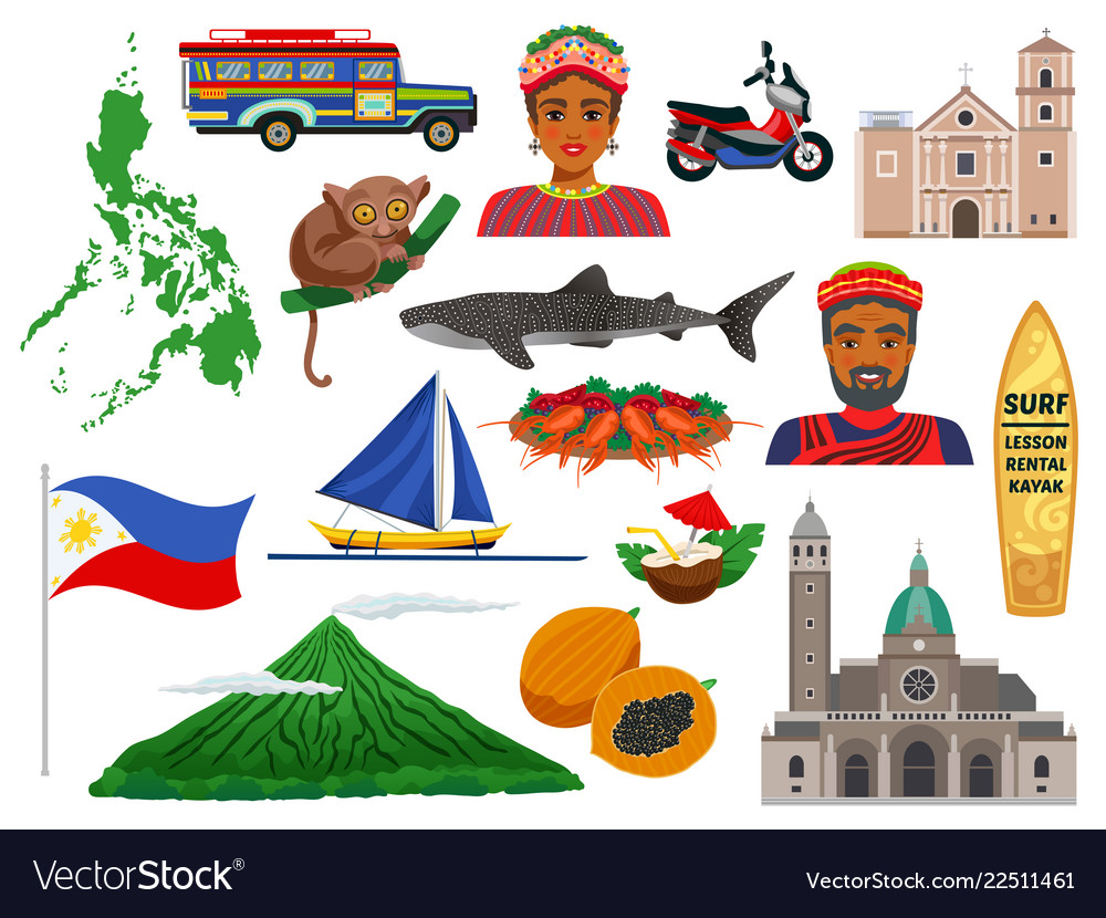Philippines travel set