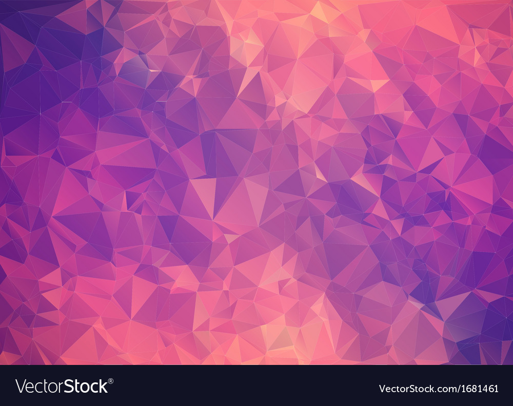 Purple Polygonal Abstract Background: Purple Pink Abstract Background Polygon Royalty Free Vector