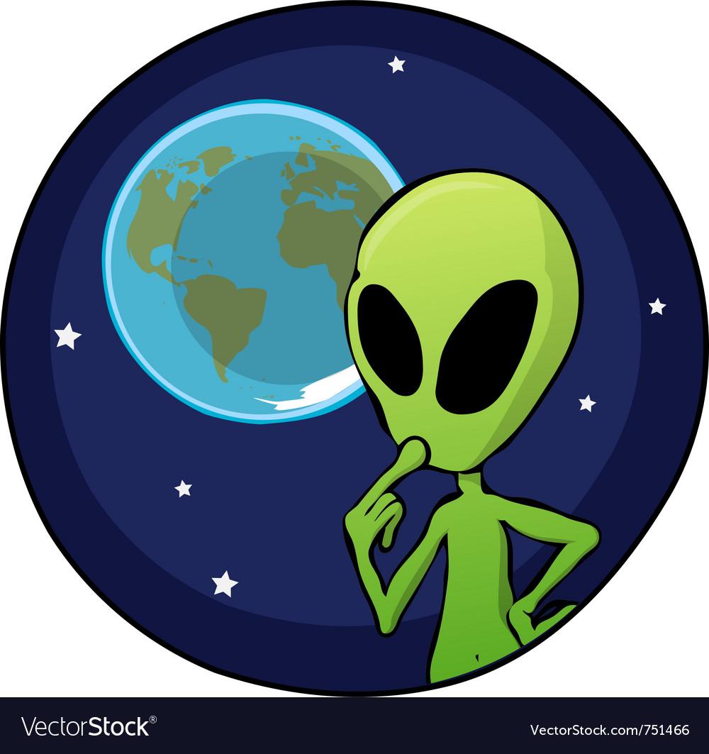 Векторные картинки для детей инопланетяне