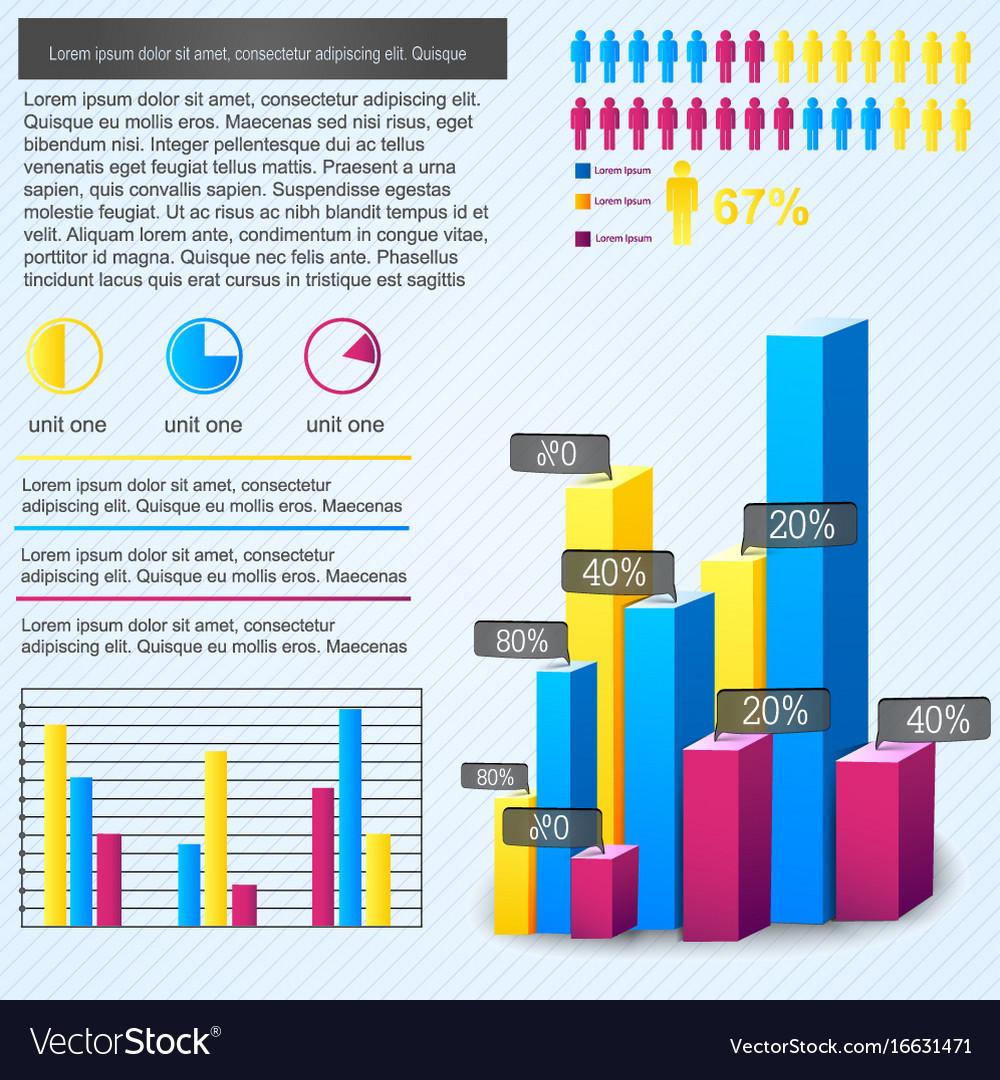 Bar chart infographic