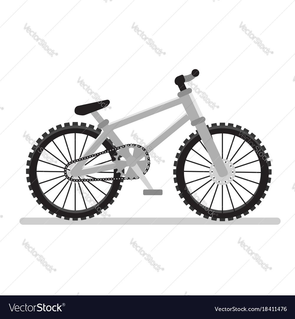 Mountain bike icon