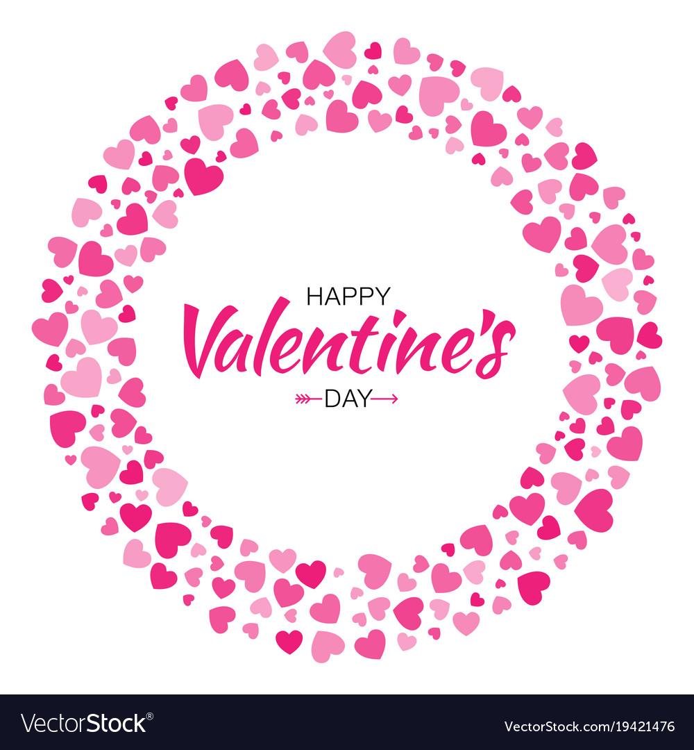 Valentines day card design