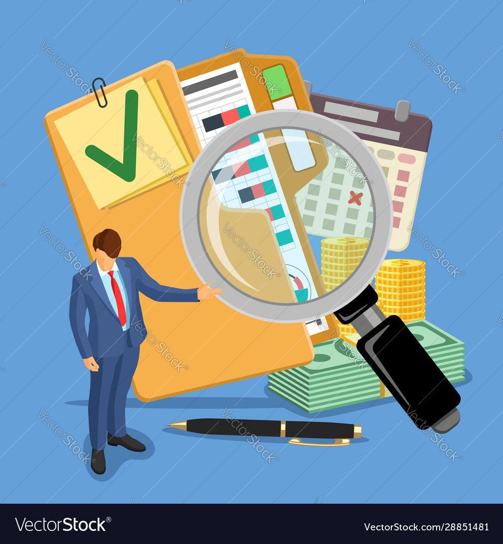 Audit and tax banner