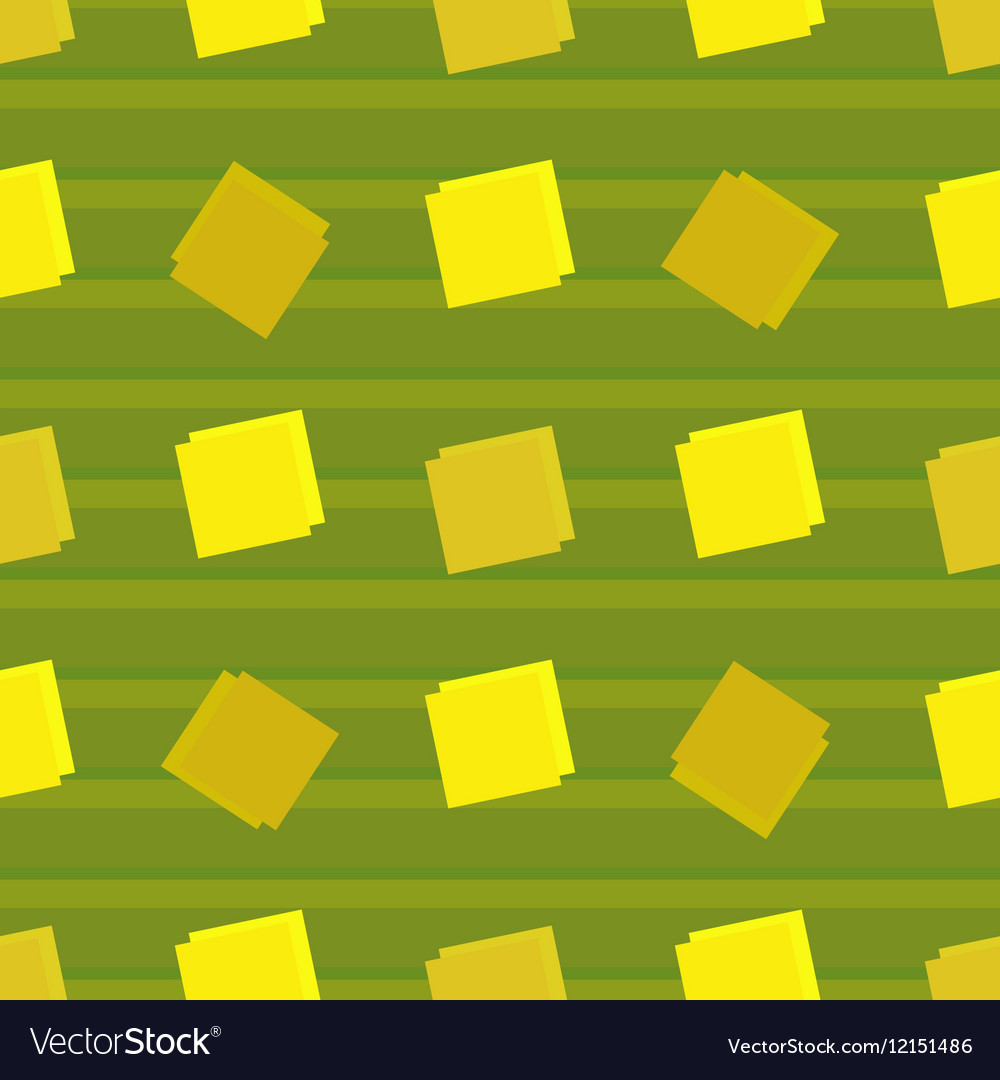 Square seamless pattern 11 vector image