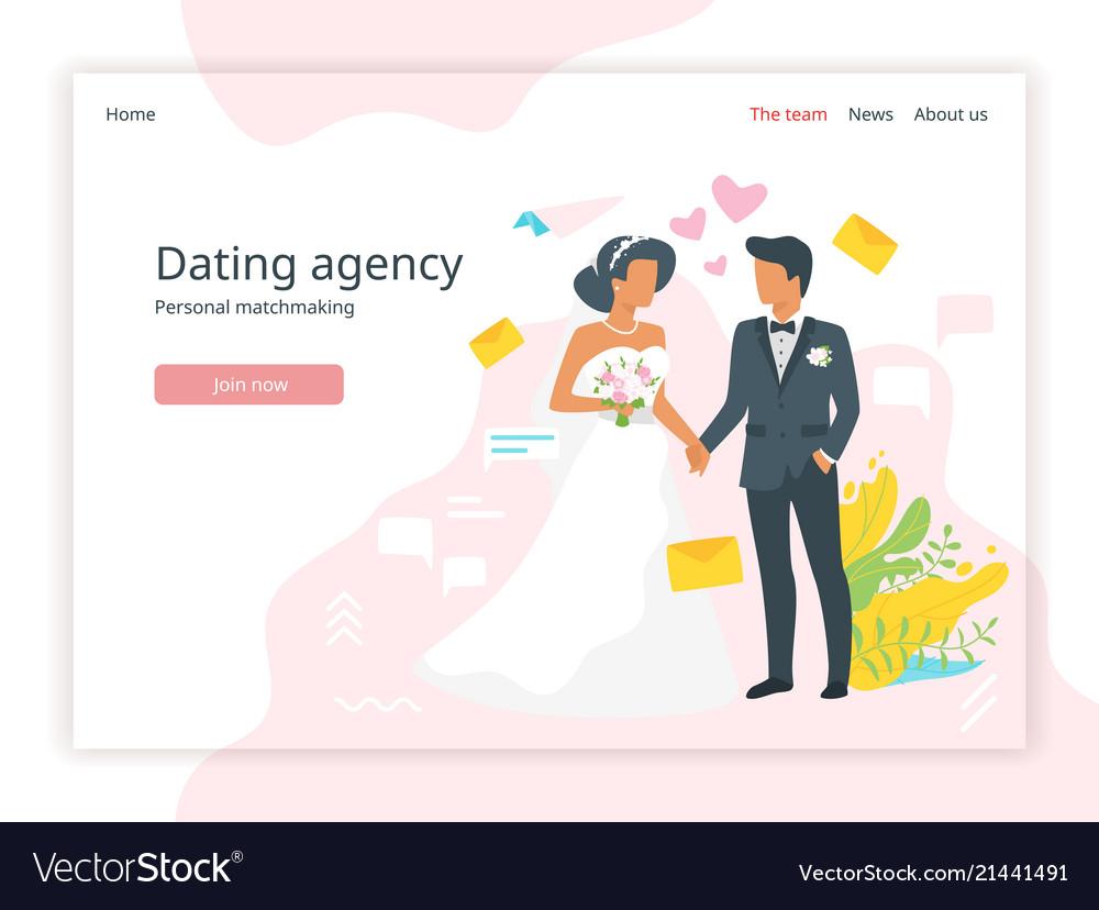 Bridal agency homepage