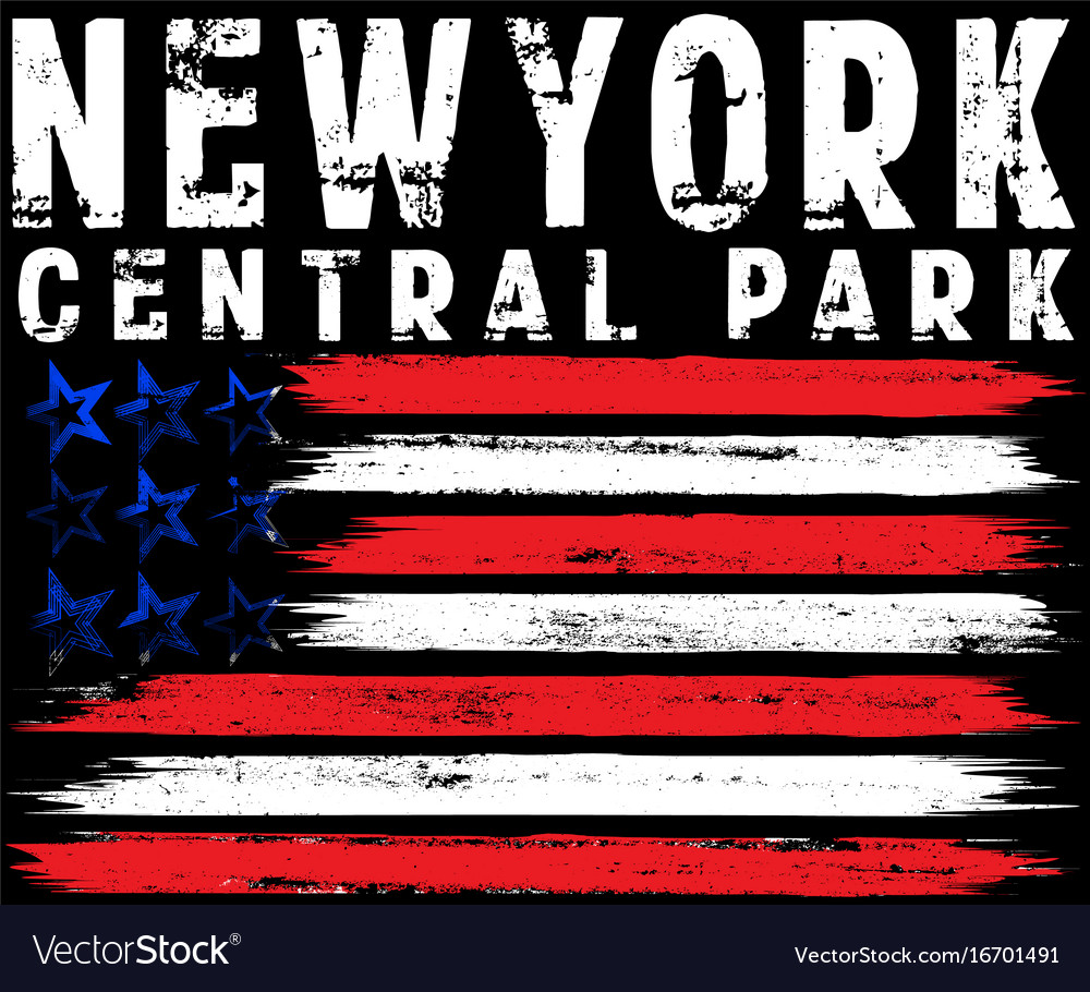 On the theme in new york city freedom stylized