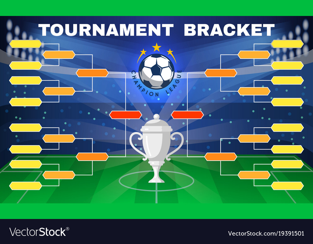 Football tournament banner
