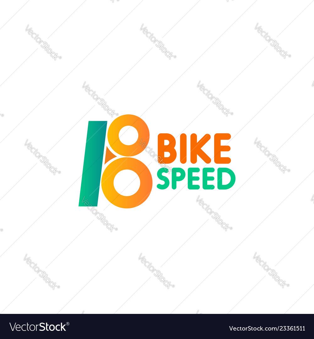 Bike speed icon