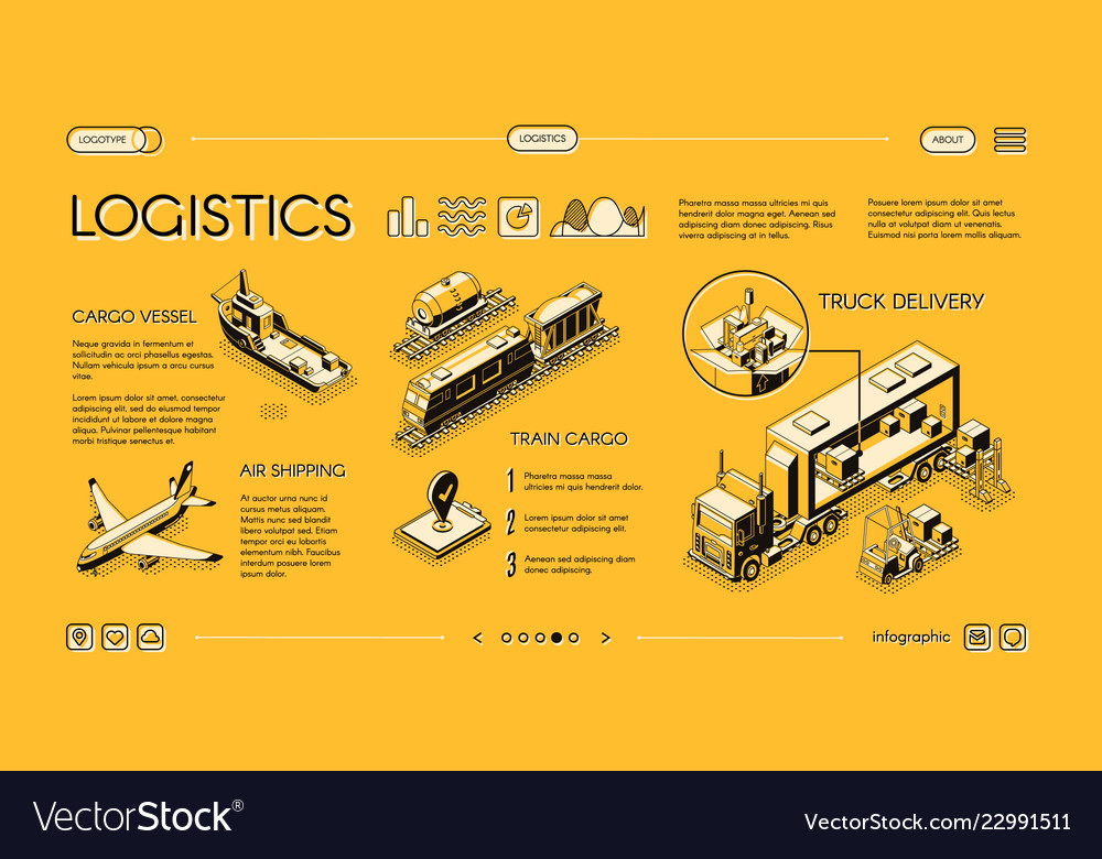 Commercial cargo transport service website