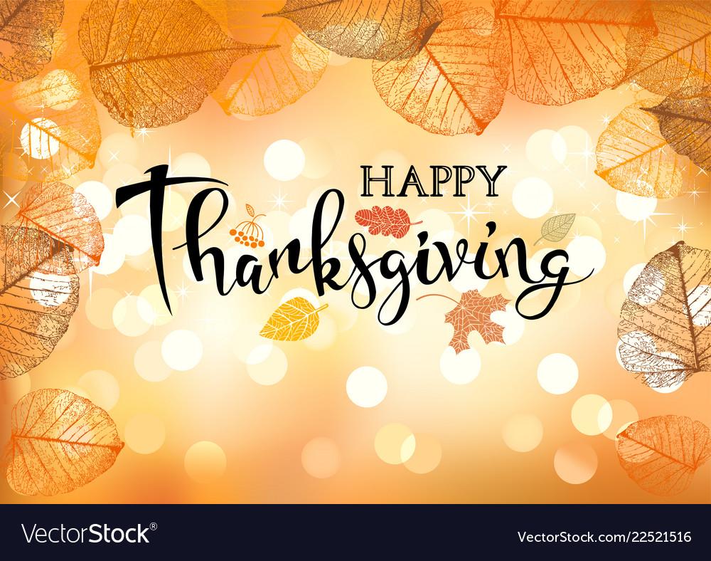 Festive thanksgiving day background