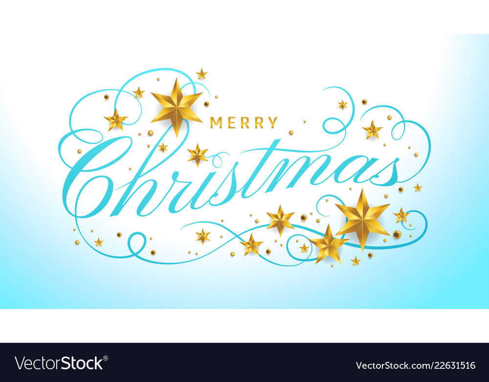 Merry christmas lettering template greeting or