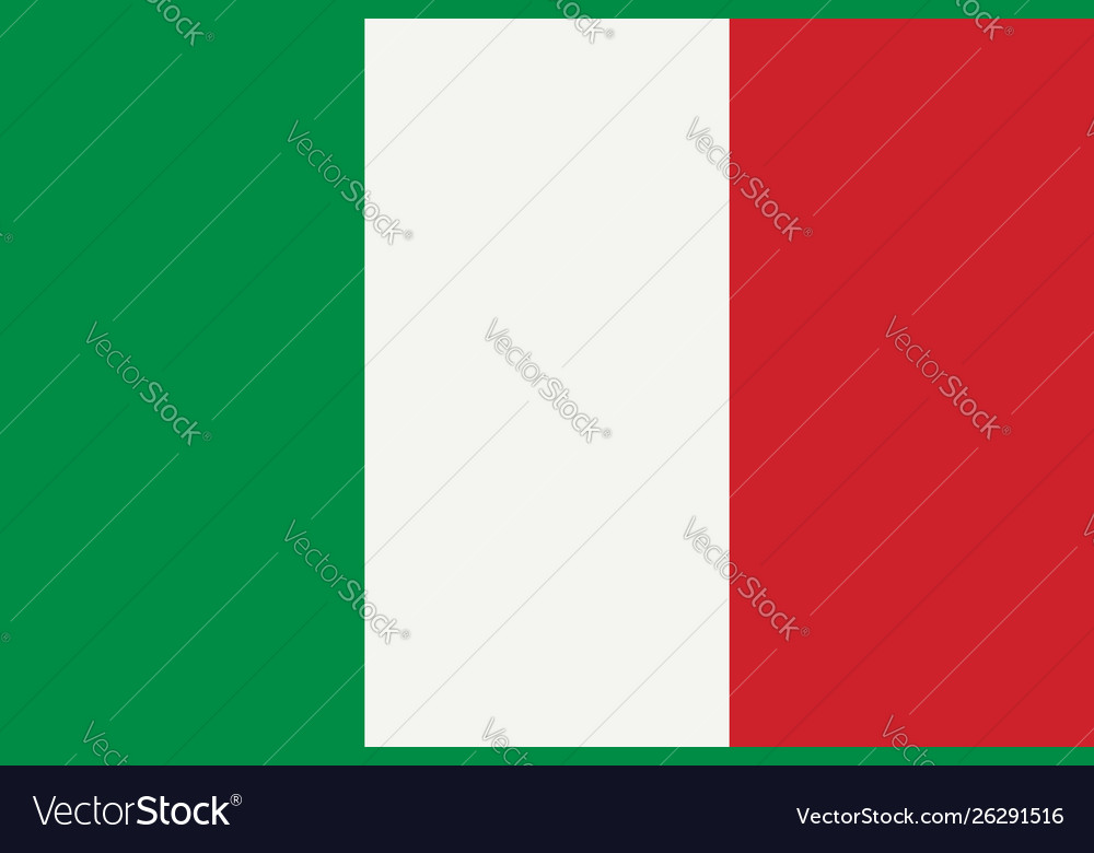 National Flag Country Italy Green White Red
