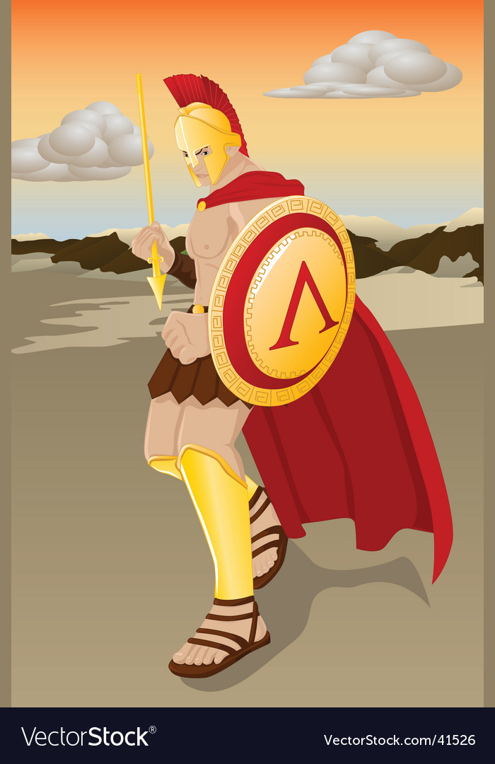 Ares vector image