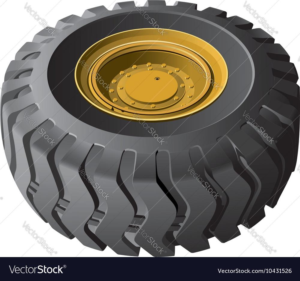 Engineering vehicles wheel