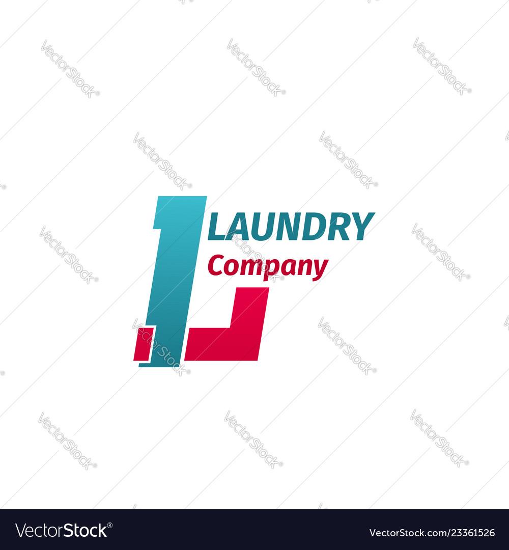 Laundry company sign