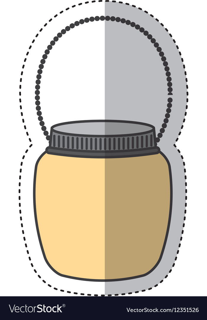 Mason jar isolated icon