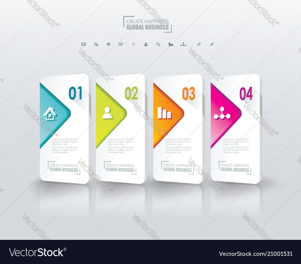 Option banners vector image