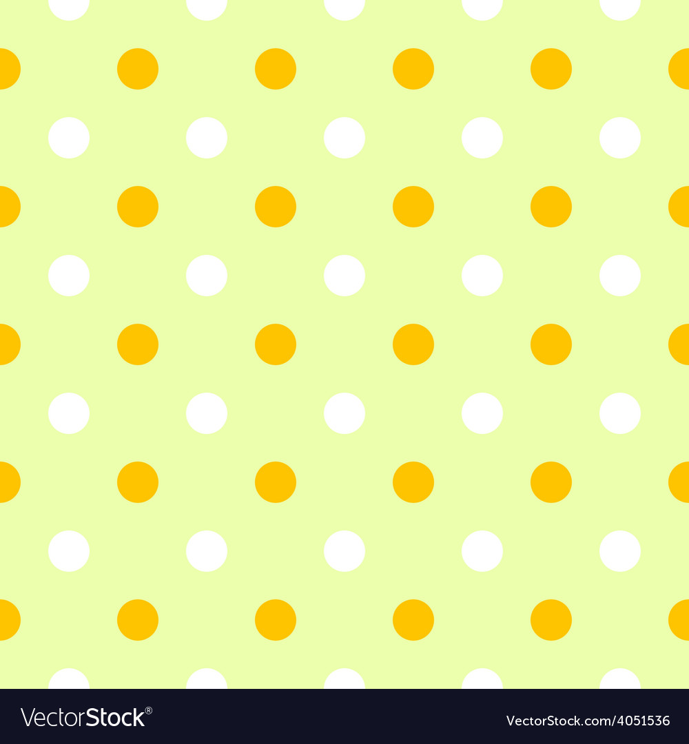 Cute spring polka dots pattern or background