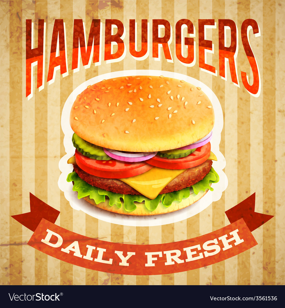 Fast Food Poster