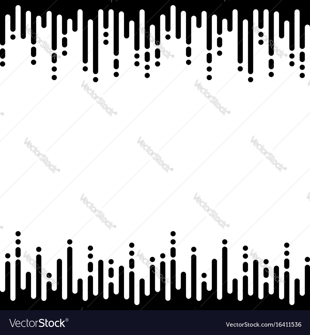 Seamless pattern with vertical rounded lines