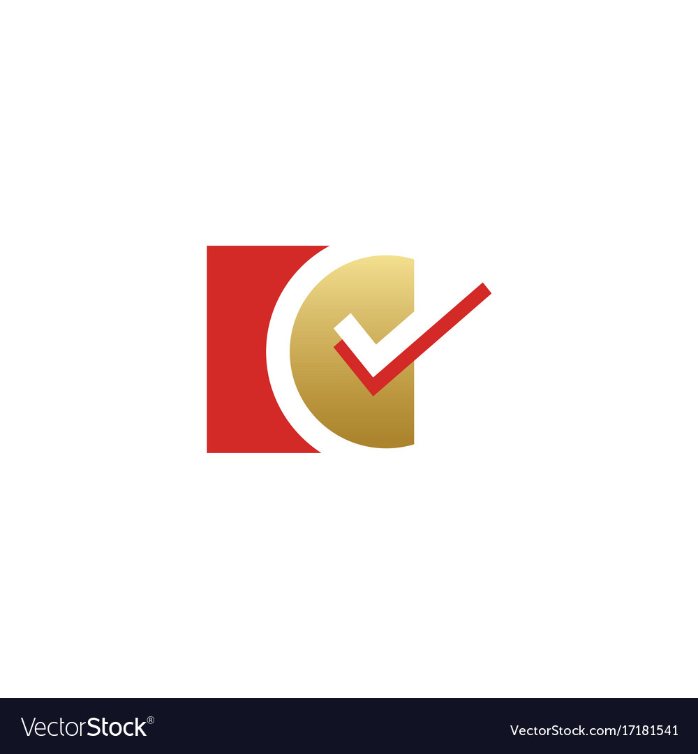 Check mark vote logo