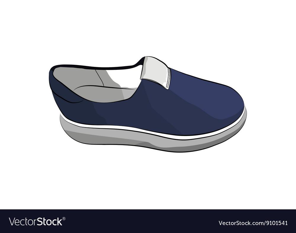 Sneaker Sport Running Shoe vector image
