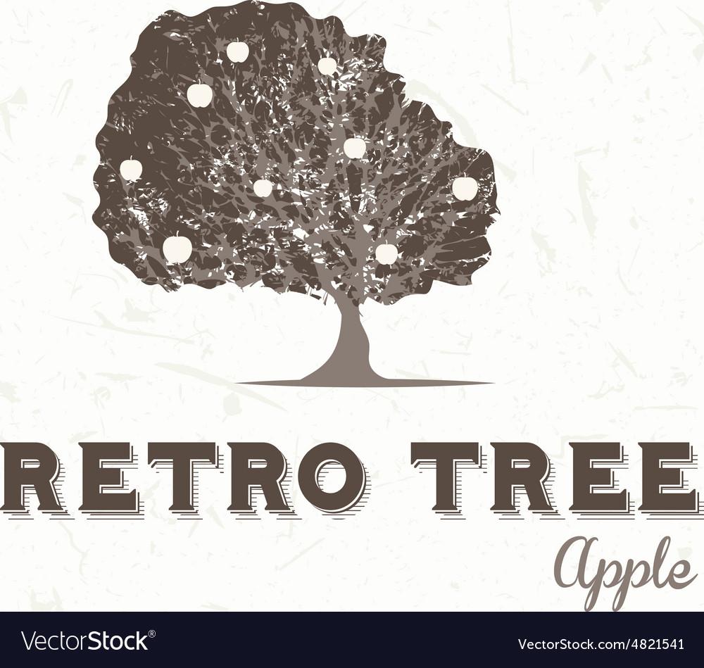 Vintage apple tree