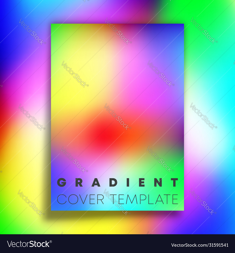 Vivid gradient texture background design