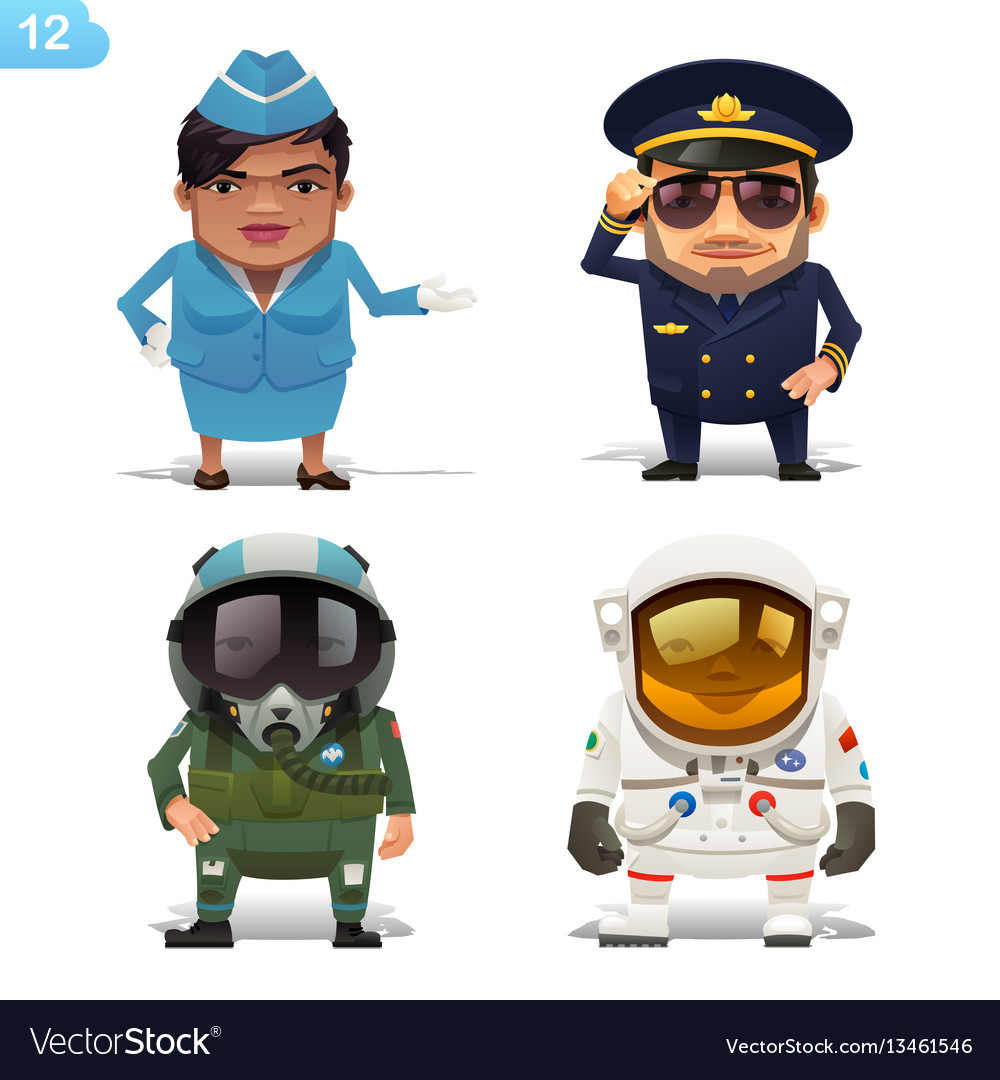 Flight professions set